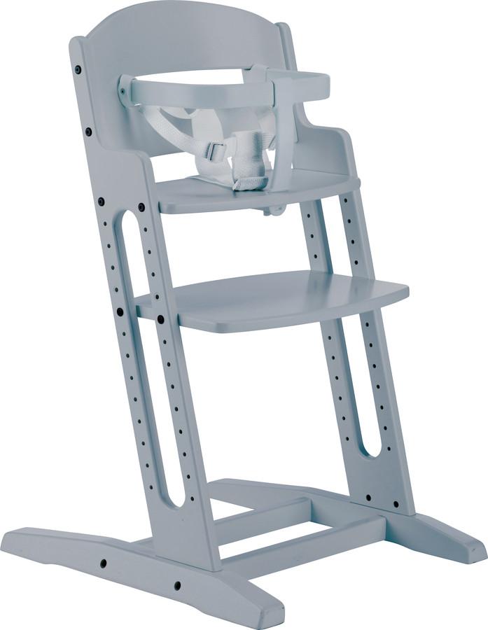Dřevěná jídelní židlička BabyDan DanChair Grey