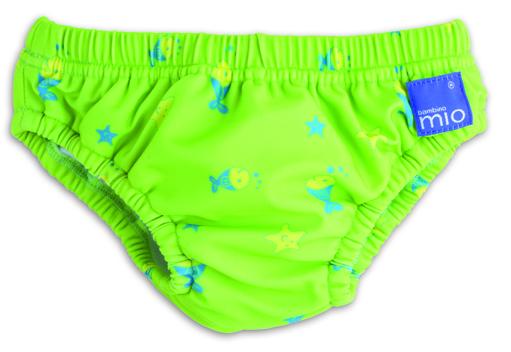 Bambino Mio Kalhotky koupací Lime Fish v.S