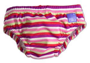 Bambino Mio Kalhotky koupací Pink Stripe v.S