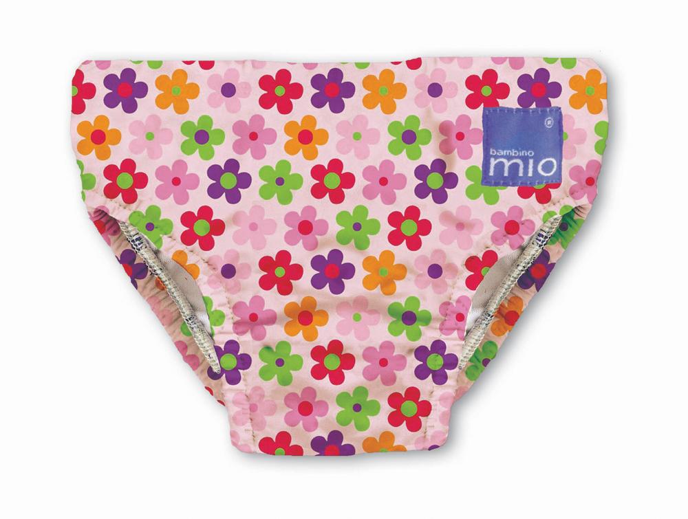 Bambino Mio Kalhotky koupací Pink Daisy v.XL
