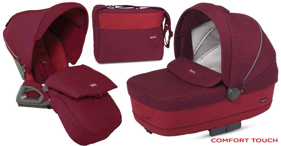 Inglesina System Sofia Comfort Touch RUBY RED