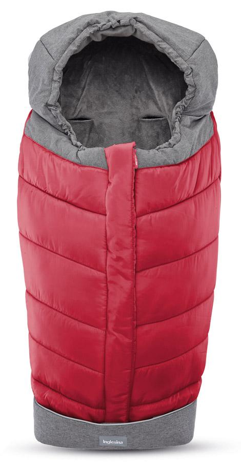 Inglesina Fusak Winter Muff Red pro kombinovaný/sportovní kočárek