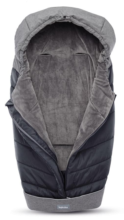 Inglesina Fusak Winter Muff Onyx Black pro kombinovaný/sportovní kočárek