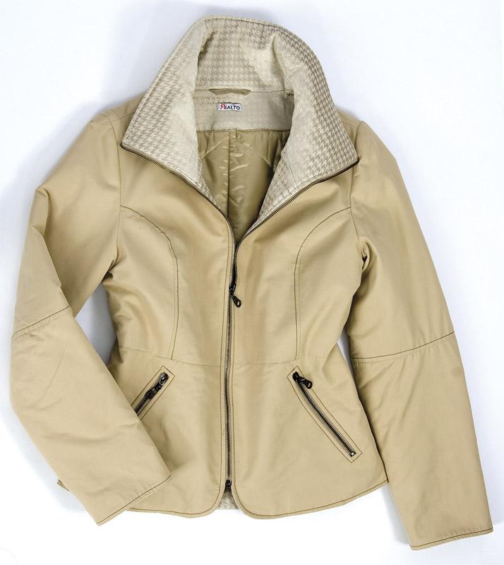 Dámská zimní bunda Rialto Biba béžová 0546