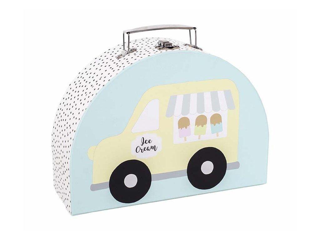 a3206 suitcase ice cream large car