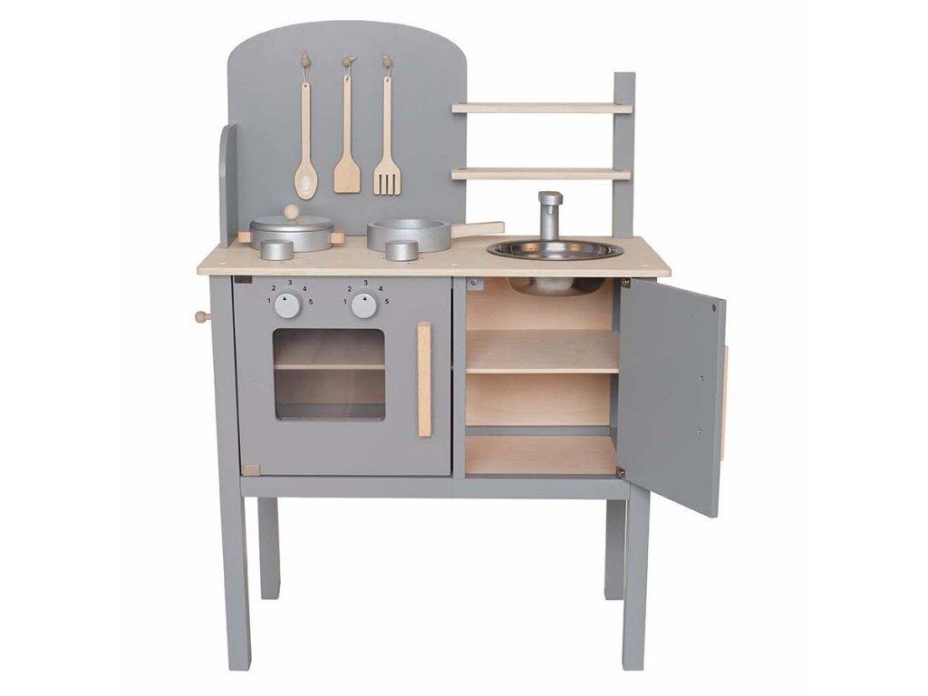 jabadabado kuchynka siva W7205