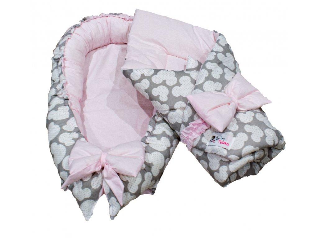 "Výbavička pro miminko ""mini"" - Mickey pink"