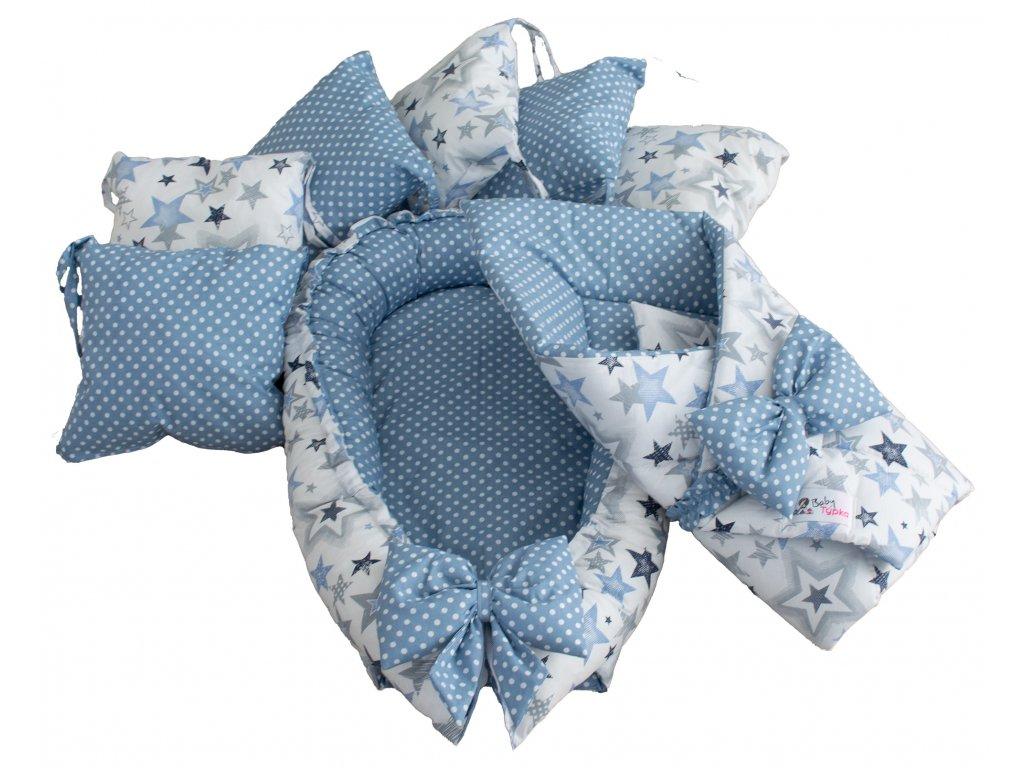 """Výbavička pro miminko """"S"""" - Sky blue"""