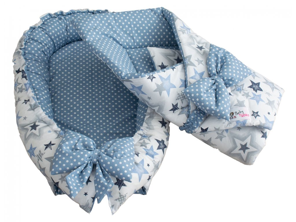 "Výbavička pro miminko ""mini"" - Sky blue"