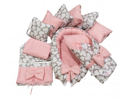 "Výbavička pro miminko ""XL"" - Mickey pink"