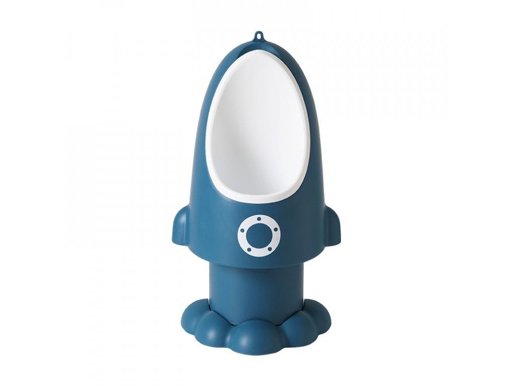 Dětský pisoár Raketa Baby Yuga-originál-modrý