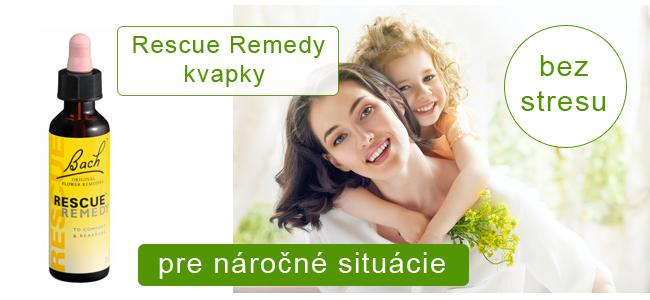 Rescue remedy kvapky - Poradíme vám, ktoré si vybrať !
