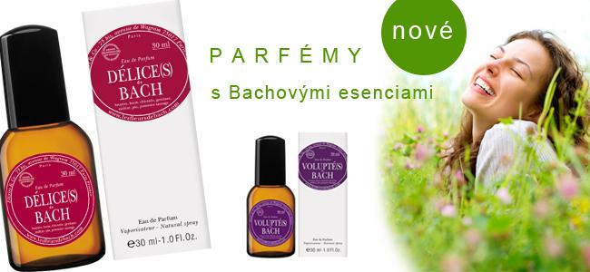 Parfémy s BIO Bachovými esenciami