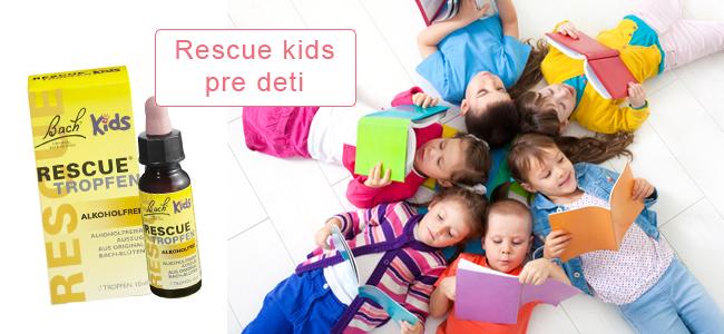 Rescue Kids Bachove kvapky pre deti