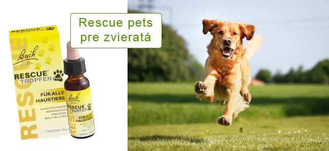 Rescue Pets Bachove kvapky pre zvieratá
