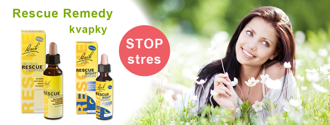 Rescue Remedy kvapky Stop Stres