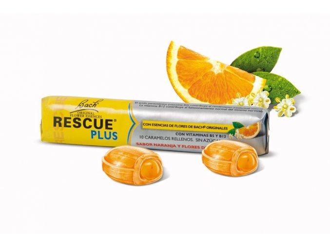 Rescue PLUS bonbóny s vitamínmi (Obsah 10 ks)