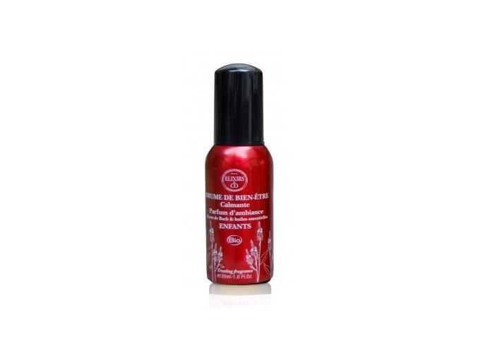 Interiérový parfém Pokojné dieťa BIO Bachove esencie (Obsah 100 ml)