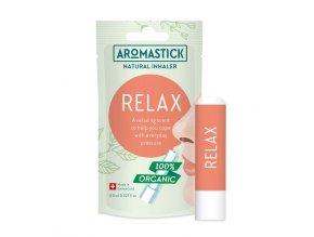 aromaticka tycinka prirodny inhalator aromastick relax