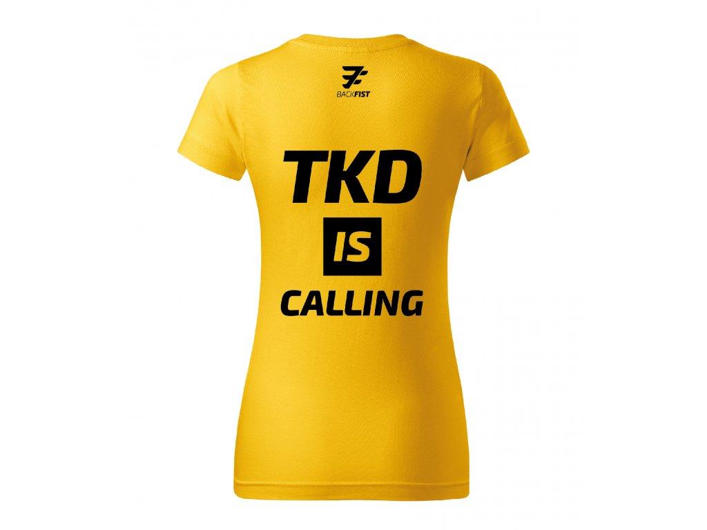 TKD is callingKreslicí plátno 30Dámské
