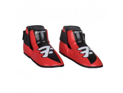 Chrániče nohou červené - BackFist Competition
