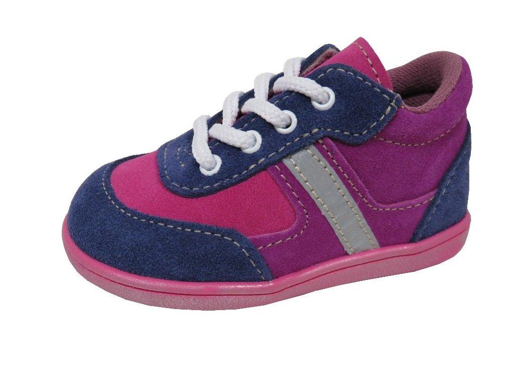 Celoroční obuv Jonap modrorůžová 47cbd6b7f8
