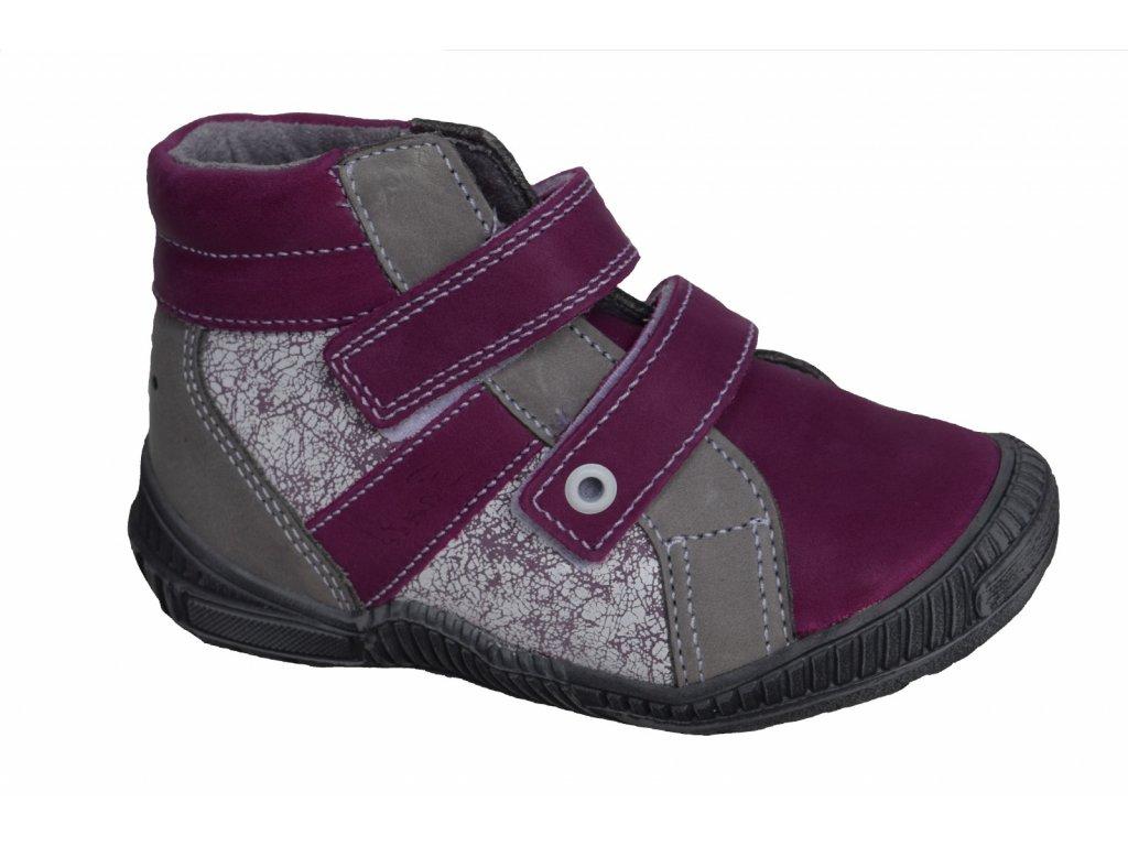 bdebbcb0360 Celoroční obuv Santé  fialová