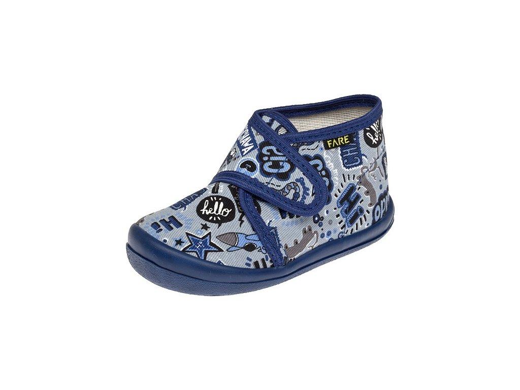 c445cf3cf69 Domácí obuv Fare 4012407