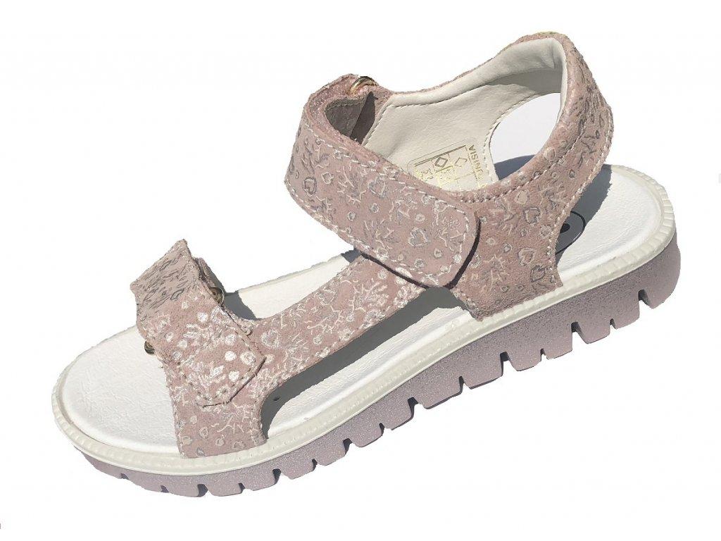 57bad17b16ad Kožené sandále Santé ROSA