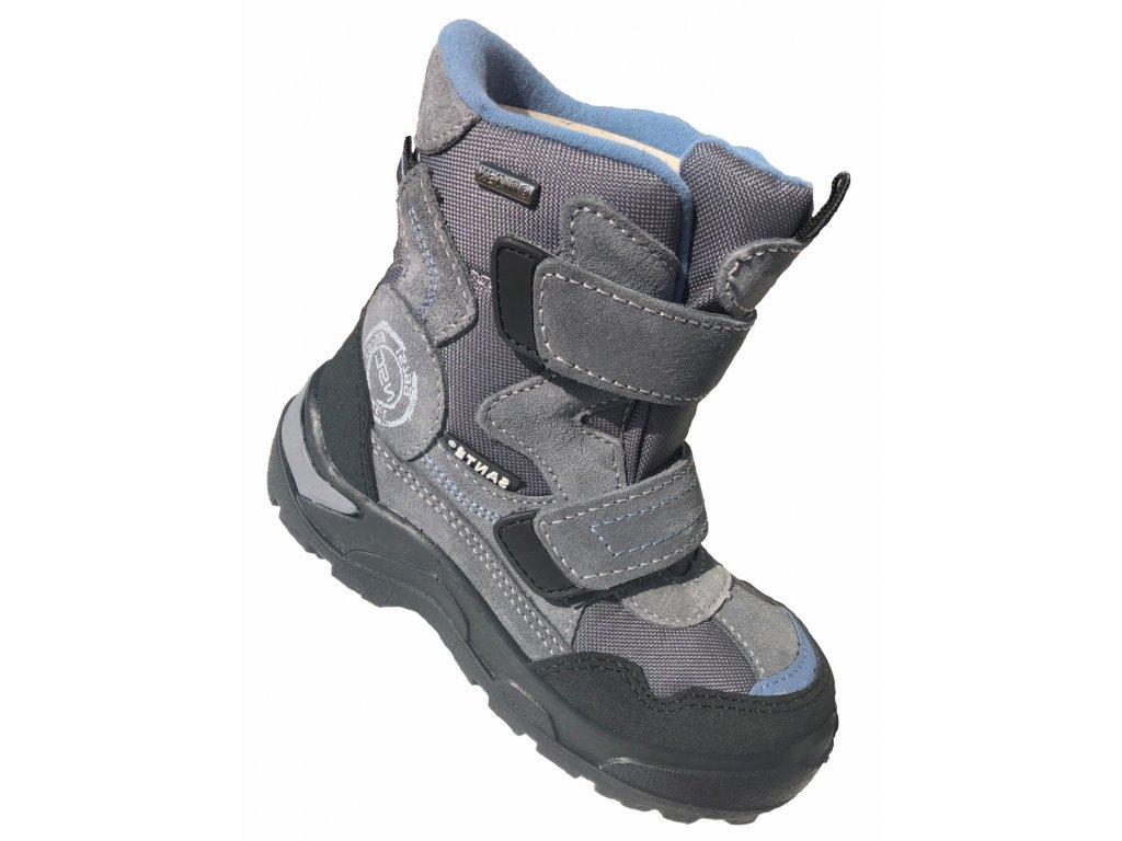 d4d88c275593 Santé zimní obuv s membránou PERLA