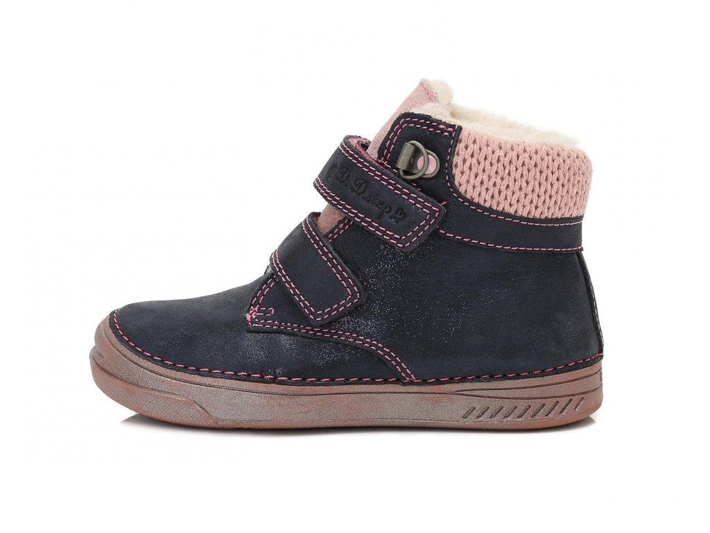 c7e9800732a Zimní kožená obuv D.D.step