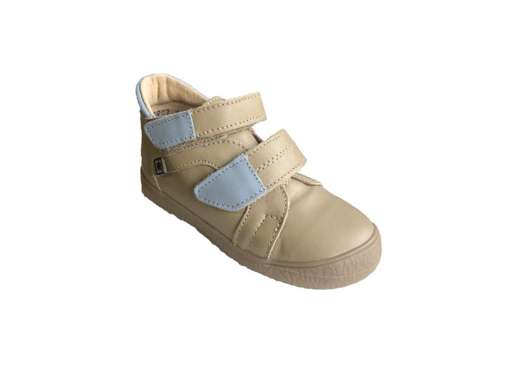 4a7284fc75 Trendy stylová kožená obuv pro kluky i holky.