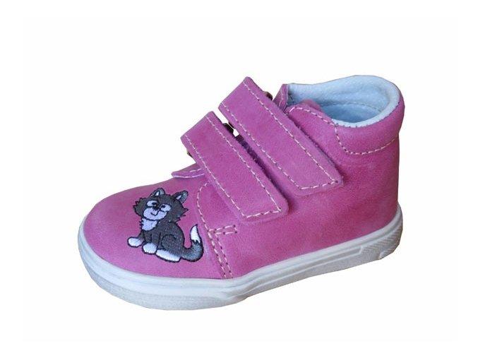 Celoroční obuv Jonap kočka/růžová