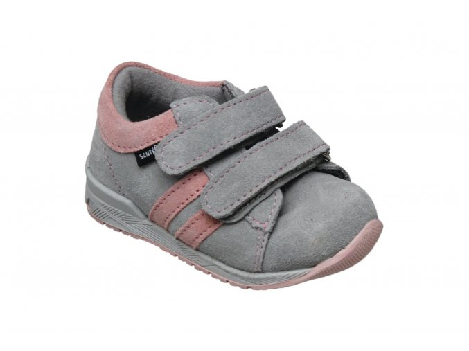 Celoroční obuv Santé ŠEDO/RŮŽOVÉ