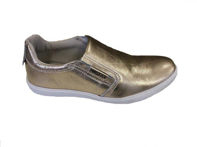 Kožená obuv Santé Pegada GOLD