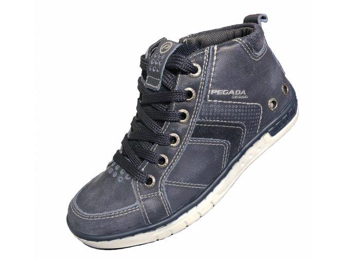 Kožená obuv UNI Pegada JEANS