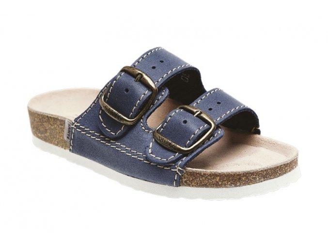 Pantofle Santé MODRÁ UNI