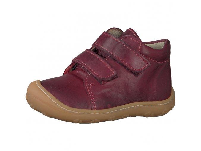 Celoroční obuv Ricosta Chrisy fuchsia-mittel