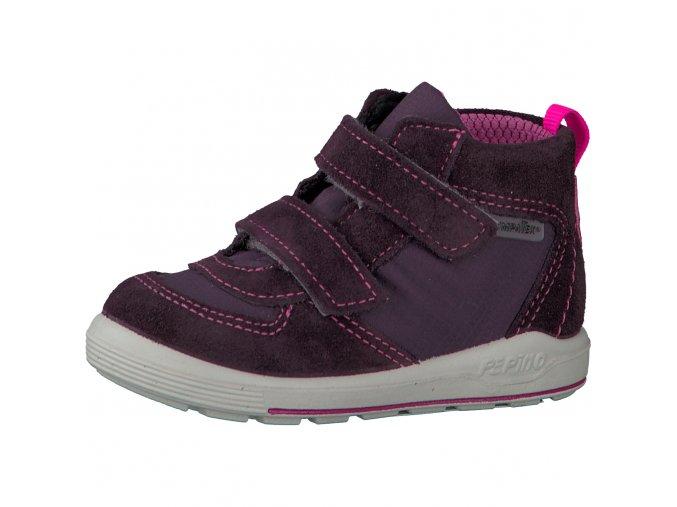 Celoroční obuv Ricosta Rory plum-mittel