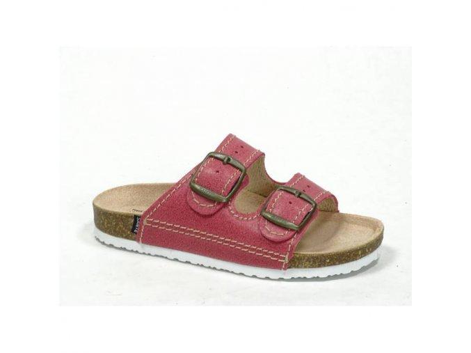 pantofle ruzové