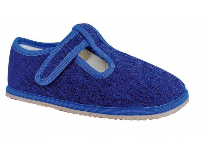Domácí obuv Protetika raven denim