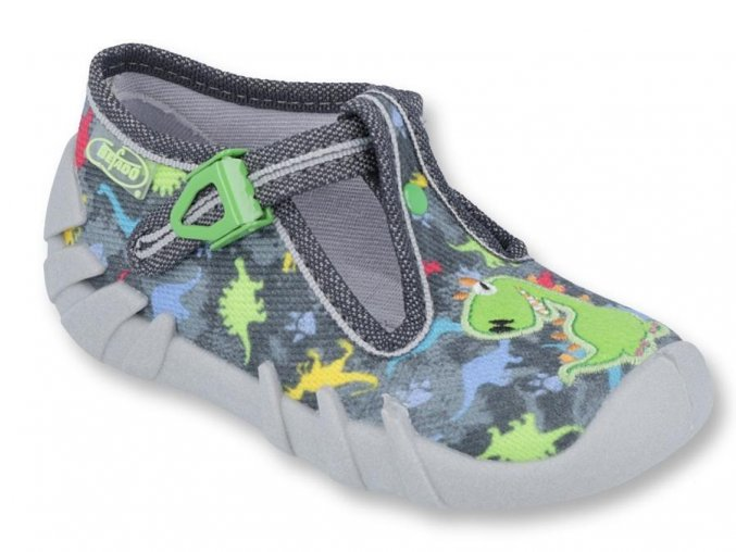 27548 1 110p370 18 chlapecka obuv prezka seda dinosauri