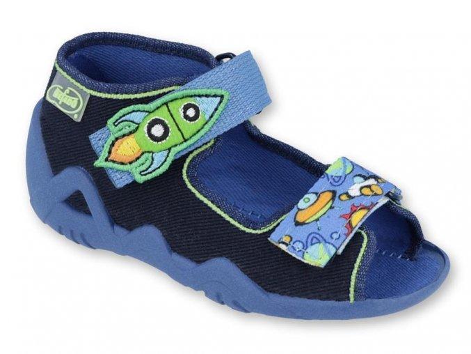 28199 1 250p091 18 chlapecke sandalky 2sz modre raketa