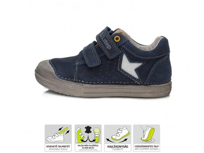 Celoroční obuv D.D.STEP 049-916 M modrá
