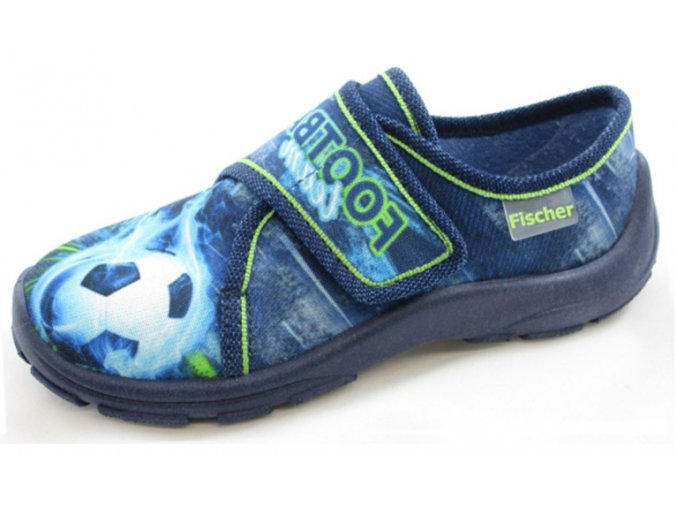 Domácí obuv Fischer 601836/559 blaubunt