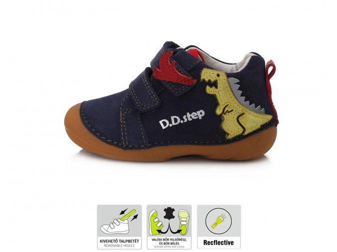 Celoroční obuv D.D.STEP 015-773 Royal Blue