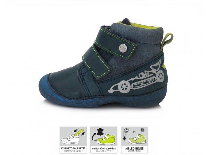 Zimní obuv D.D.Step 015-401 Bermuda Blue