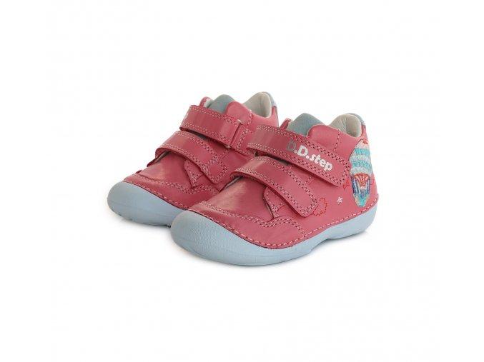Celoroční obuv D.D.STEP 015-350 Dark Pink