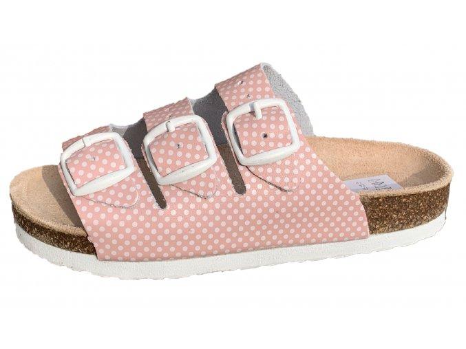 pantofle ruzova