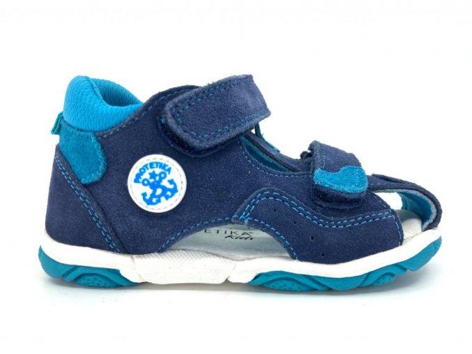 7524 detske sandale protetika monty tyrkys